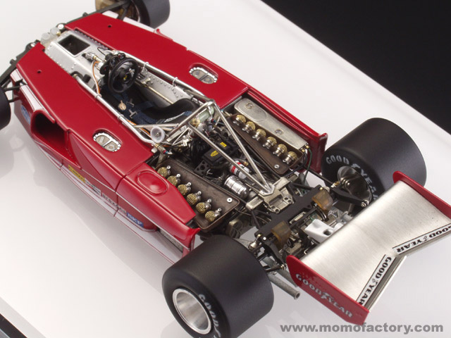 Base kit / Superior Models(Make up) : Ferrari 312T 1975